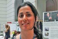 Iranian woman winner of top European math prize