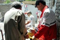 امدادرسانی هلال احمر گلستان به ۲۵۳۸ حادثه دیده از ابتدای سال