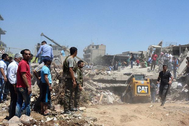 انفجارهای شهر کردنشین قمیشلی سوریه