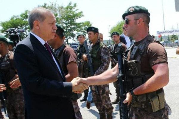 اردوغان يريد وضع الاستخبارات ورئاسة الاركان تحت سلطته