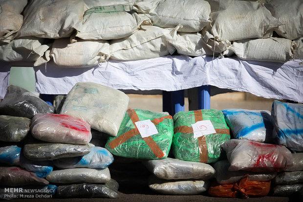 Police seize over 1.4 tons of narcotics in Iran's Saravan