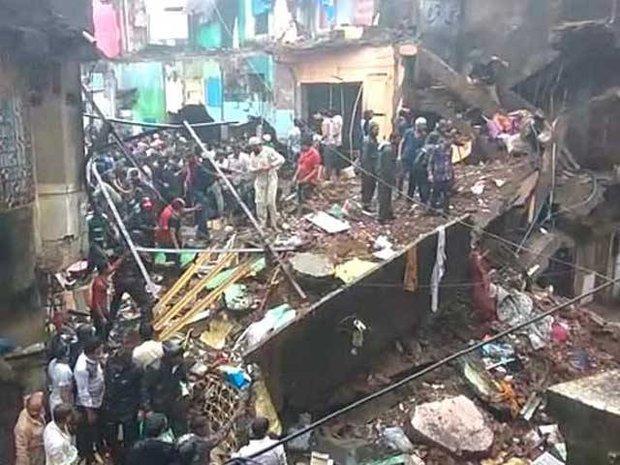 ممبئی کے علاقہ بھیونڈی میں رہائشی عمارت گرنے سے 8 افراد ہلاک