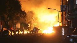 طالبان تتبنى تفجير شاحنة مفخخة قرب فندق في كابول