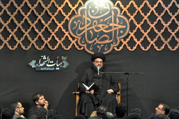 بالاترین دانشگاه تربیتی مکتب امام حسین(ع) است