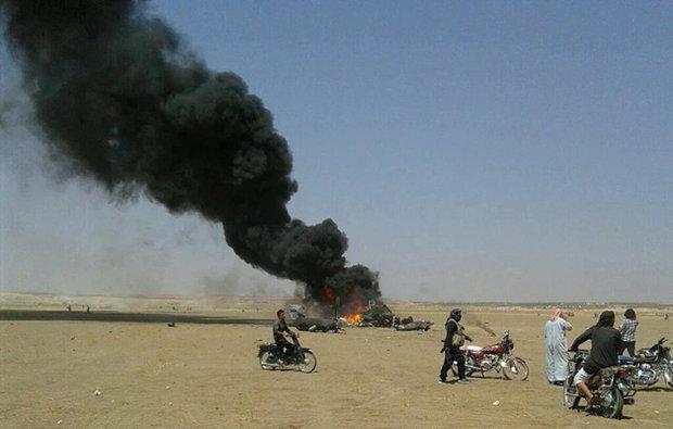 روسی ہیلی کاپٹر گر کر تباہ/ دوپائلٹس ہلاک