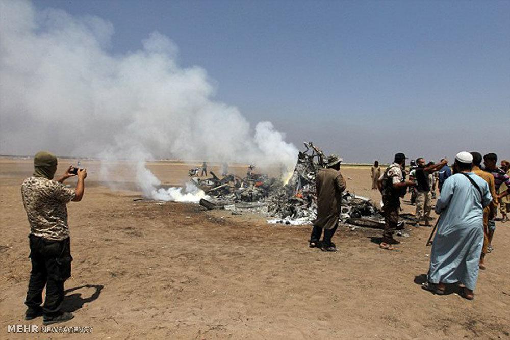 سقوط هلیکوپتر روسیه در سوریه