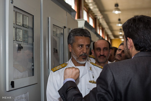 ازاحة الستار عن 10 انجازات للقوة البحرية للجيش الايراني