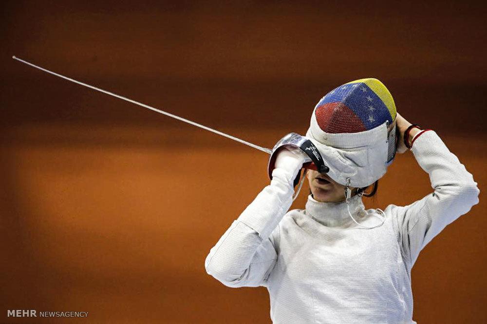 آخرین تمرینات قبل از المپیک