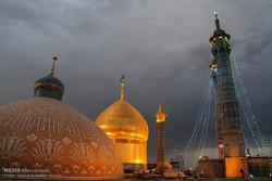 Shrine of Hazrat Masoumeh on eve of Day of Girls