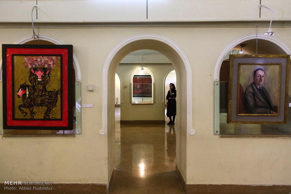 نمایشگاه آثار پیشگامان هنر معاصر ایران در اصفهان