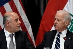 گفتگوی تلفنی العبادی و بایدن/ آزاد سازی موصل محور مذاکرات
