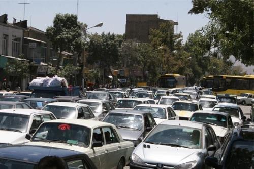 ترافیک سرسامآور در خیابانهای ورامین