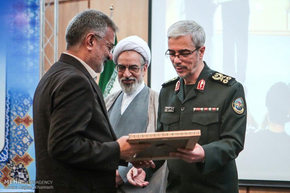 تودیع و معارفه رئیس دانشگاه عالی دفاع ملی