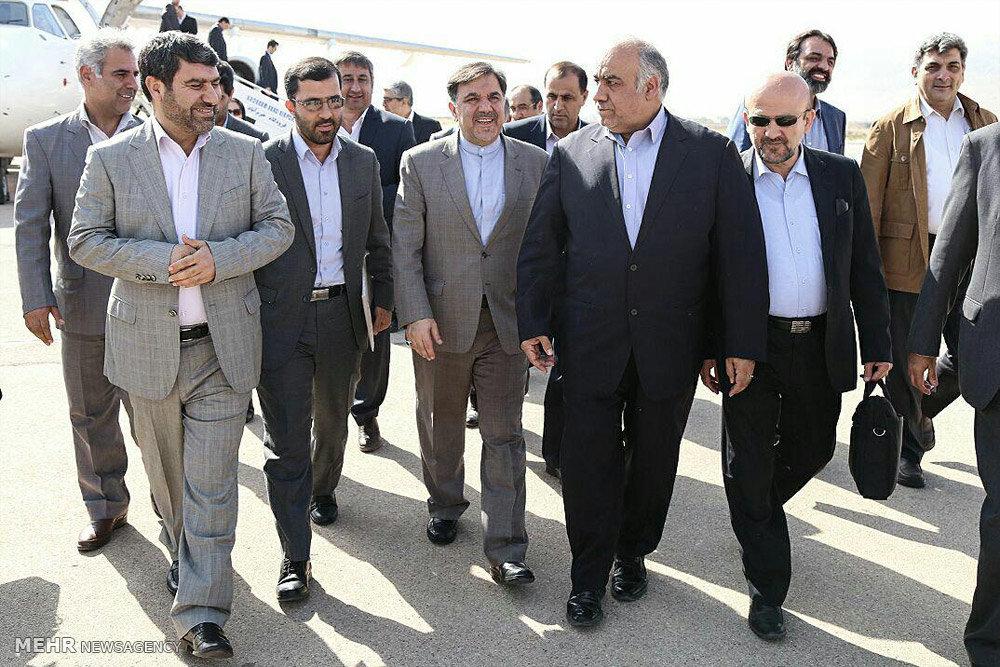 سفر وزیر راه و شهرسازی به لرستان