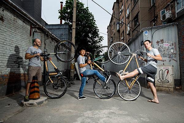 توليد دوچرخه هاي چوبي در چين