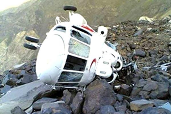 ۷ کشته در سقوط یک بالگرد در باهاما