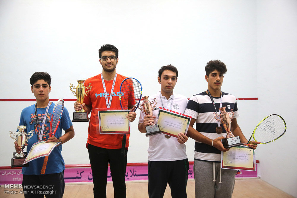مسابقات قهرمانی اسکواش پسران زیر ١٧ و ١٩ سال کشور