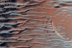 کشف خشکسالی بزرگ در تصاویر جدید مریخ