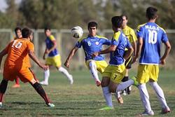 مرحله اول رقابت های فوتبال لیگ جوانان استان کردستان پایان یافت