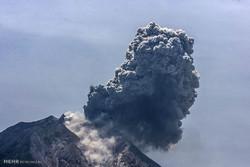 میکسیکومیں آتش فشاں ایک بار پھر متحرک