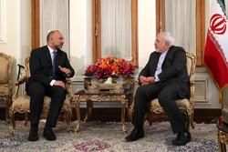 دیدار دبیر شورای امنیت ملی افغانستان با وزیر امور خارجه