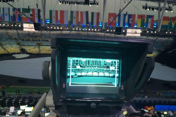 ورزشگاه ماراکانا قبل از مراسم افتتاحیه