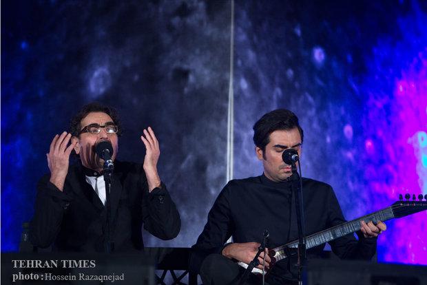 Shahram Nazeri performs in Tehran