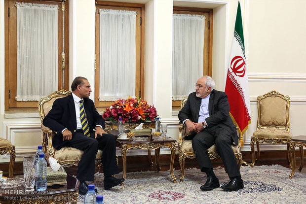 دیدار وزرای خارجه ایران و پاکستان