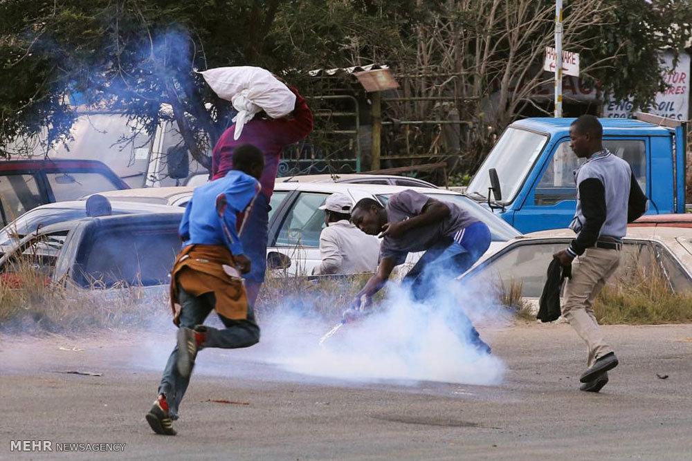 افزایش تنش ها در زیمبابوه