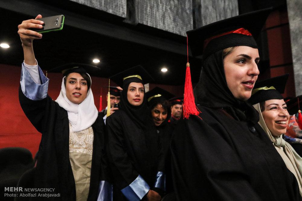 مراسم جشن فارغ التحصیلان دانشجویان دانشکده خبر