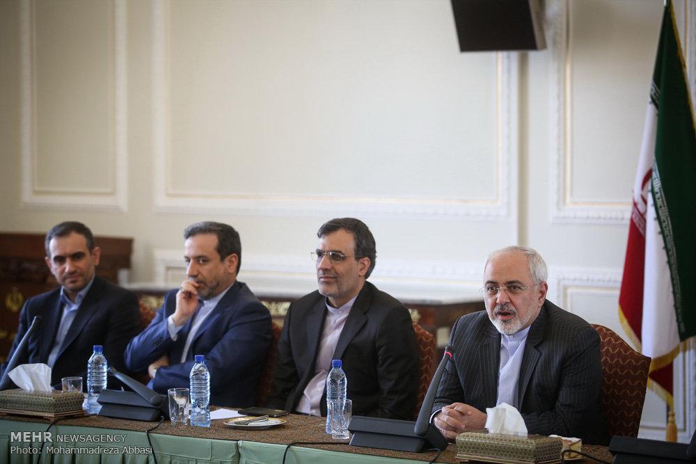 تجلیل از خبرنگاران حوزه وزارت امور خارجه