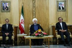 بدرقه رسمی رییس جمهور در سفر به کشور آذربایجان