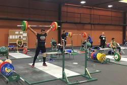 وزنه برداری المپیک