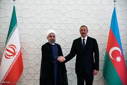 Ruhani'nin Azerbaycan ziyareti