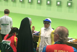 Iran female shooter eliminated in Rio Olympics