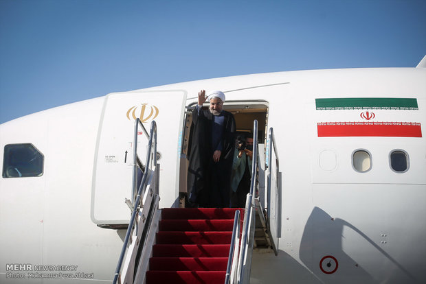 Rouhani to visit Kazakhstan Sat. to attend Caspian Sea littoral states meeting