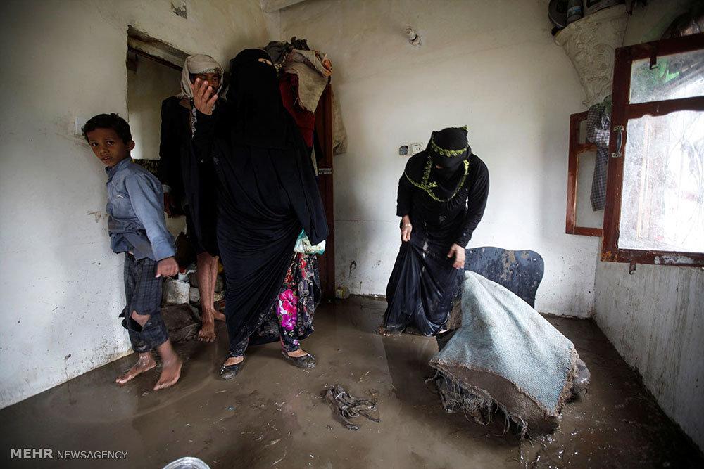 سیل در یمن
