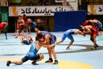 تمرین مشترک آزادکاران تیم ترکمنستان در تهران