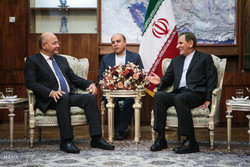 Iran's 1st VP meets with former PM of Iraqi Kurdistan