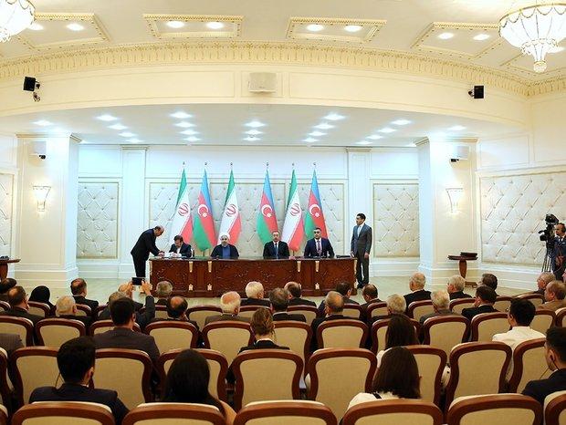 Iran, Azerbaijan ink 6 MoUs in Baku