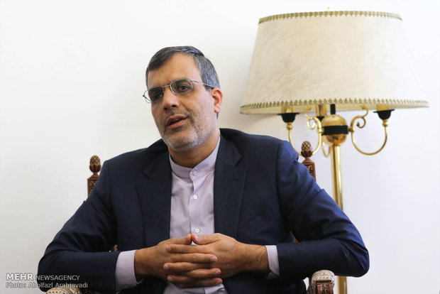 Diplomat vows Iran's full support to Iraq against terrorism