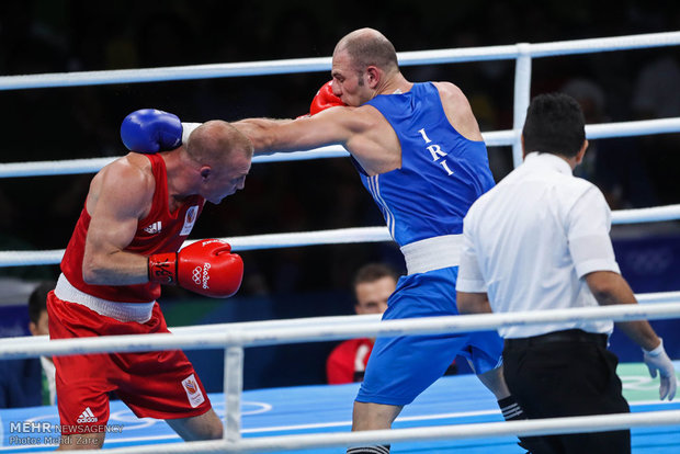Iran's boxer eliminated from Rio 2016