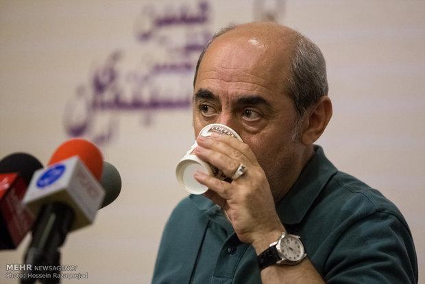 مؤتمر صحفي في دار السينما بطهران