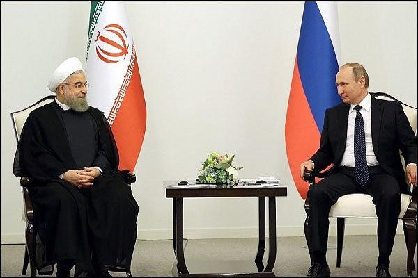 Rouhani, Putin discuss Iran's peace plan for Hormuz Strait
