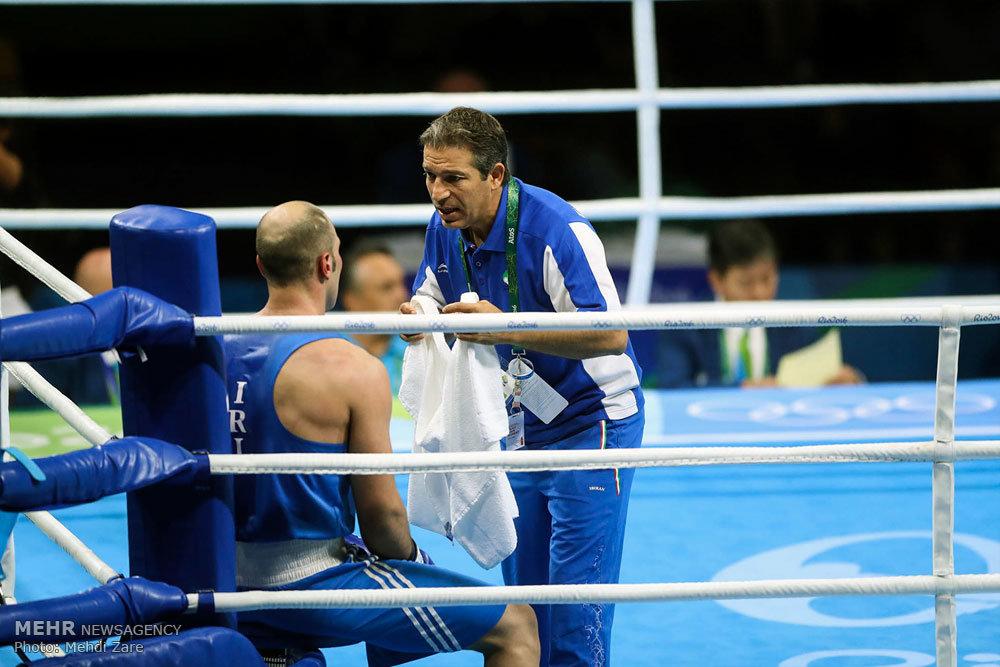 نزال الملاكمة بين الايراني احسان روزبهاني وغريمه الهولندي