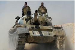 Suriye ordusu Şam çevresinde teröristlerle çatıştı / Video