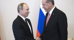 Putin, Erdogan begin talks in St. Petersburg