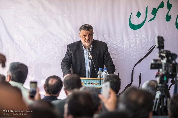 سفر محمود حجتی وزیر جهاد کشاورزی به قزوین