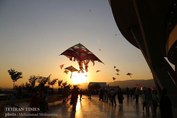 Kite festival in Tehran