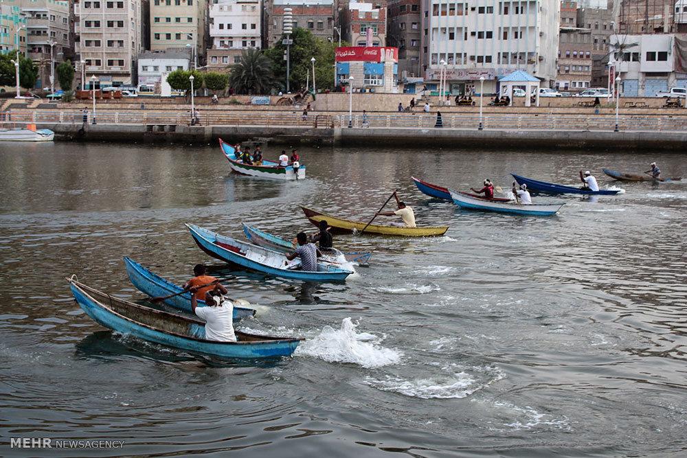 فصل شنا در یمن
